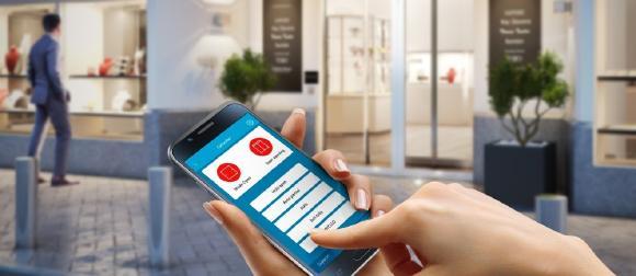 Die innovative Türsteuerung per App von Assa Abloy Entrance Systems