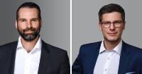 """Sven Schlünzen (li.) und Miklós Hegybíró: """"Die Digitalisierung am europäischen Finanz- und Versicherungsmarkt vorantreiben"""""""