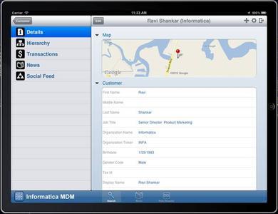 Informatica bringt Master Data Management mit Big Data, Sozialen Netzwerken, der Cloud und Mobile Computing zusammen