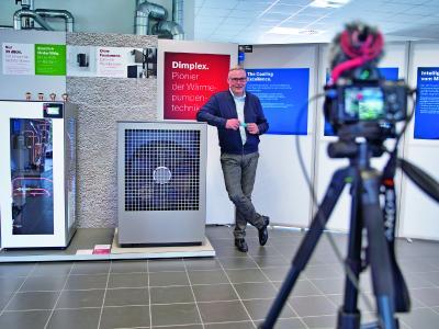 Das Team um Geschäftsführer Clemens Dereschkewitz hat die Chancen von Online-Veranstaltungen erfolgreich für sich genutzt und präsentiert zur ISH die Neuheiten von Glen Dimplex Deutschland wieder auf digitalem Weg