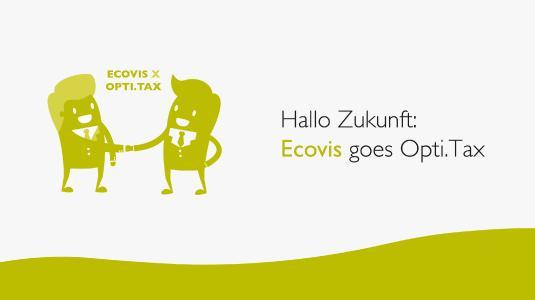 Headerbild zur PM ECOVIS setzt auf Opti.Tax für die Verfahrensdokumentation