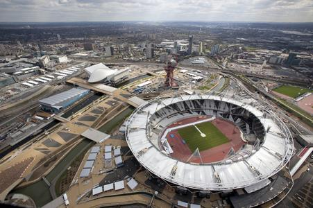 Olympic Park, Copyright by LOCOG