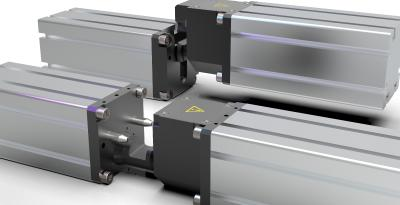 Pneumatic concept reduces set-up times in pressing plants