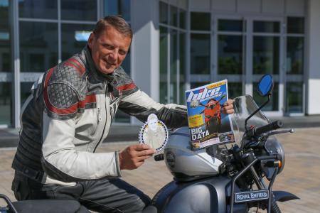 """Stephan Maderner, Chefredakteur von """"bike und business"""", verlässt zum 30.06.2020 auf eigenen Wunsch die Vogel Communications Group. (Quelle: Karsten Fehr/bike und business)"""