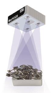 Objekte von nur wenigen Kubikmillimetern erkennt der MiniPICK3D mit zuverlässiger Präzision