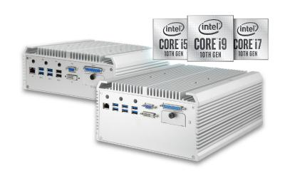 Neue Embedded Computer mit Intel® Core™ 10th Gen. CPUs