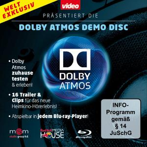 Dolby Atmos Papptasche