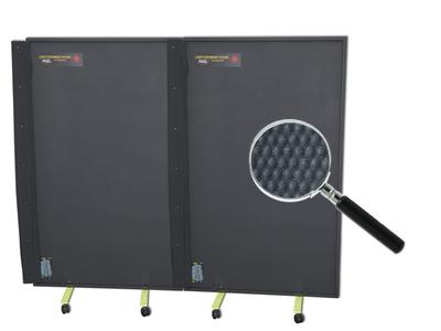 Mobile Laser Protective Wall