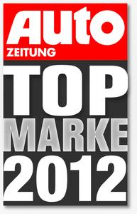 Auto Zeitung TopMarke 2012