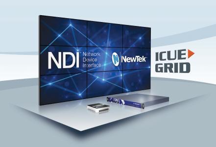 ICUE-GRID IP Videowall