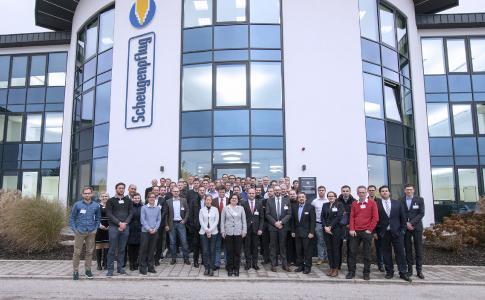 """60 Besucher aus ganz Deutschland nahmen am """"Branchentreff Medizintechnik"""" teil, der von Scheugenpflug und dem Forum MedTech Pharma e.V. organisiert wurde"""
