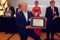 PDV-Manager Volker Kadow erhält Platin-Award für beste E-Akte / Fotoquelle: offenblen.de