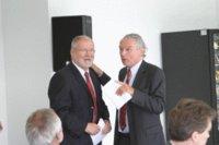 Ministerpräsident Dr. Harald Ringstorff und Ralph Koopmann