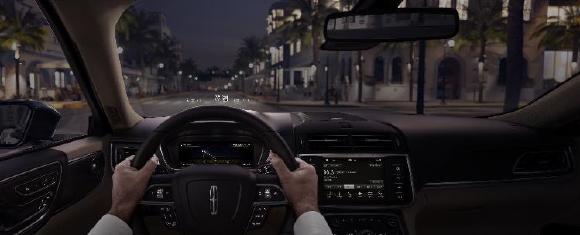 Besseres Bild bei größerer Anzeigefläche im Lincoln Continental und Lincoln Navigator. Foto: © Ford Motor Company