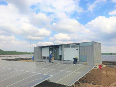 SMA Supplies System Technology to EVN's First Large-Scale Solar Plant in Vietnam / Photo: SMA Solar Technology AG