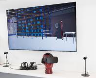 Virtual Reality unterstützt bei der Fabrik- und Logistikplanung / © Fraunhofer IIS/Paul Pulkert