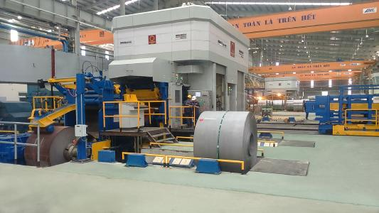 Since June 2017, Hoa Sen Group has been operating in Vinh City in Central Vietnam the first CCM® by Esmech Equipment  Pvt. Ltd.. It is the technical model for the new mill. Commissioning of the second CCM®, also supplied by Esmech, followed shortly thereafter in September 2017