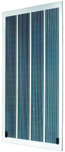 OPVIUS GmbH Polycarbonate laminated blue module (1.48 x 0.78 m) / Photo: Philippe Guilbaud, Ossau Photo, Arudy, France