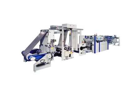 The LabelCut precision cutting machine from Kugler-Womako processes pre-printed rolls into wet-glue labels
