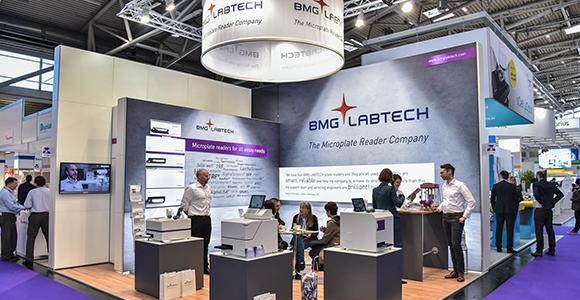 BMG LABTECH auf der Analytica 2018