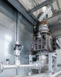 In vielen Industriezweigen ist der pneumatische Transport von Schüttgut wie etwa Pulver oder Granulat das Mittel der Wahl. Quelle: Bürkert Fluid Control Systems