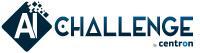 Offizielles Logo der centron AI-Challenge