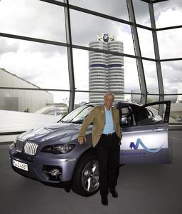 BMW ActiveHybrid X6 erweitert München 2018 Fahrzeugpool