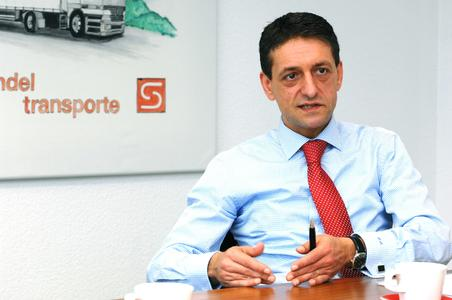 Rui Macedo, Geschäftsführer der Sievert Handel Transporte. (Foto: sht / Agentur Sputnik)