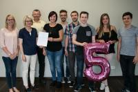 Kooperationsunterzeichnung mit dem Wirtschaftswissenschaftlichen Gymnasium Saarbrücken