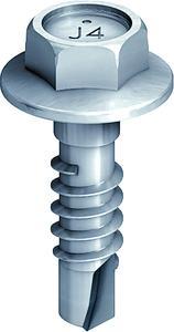 EJOT Edelstahl-Saphir Bohrschraube JT4-3H/6-5,5x20 zur Ausbildung von Gleit- und Festpunkten für Bauteilkombinationen t1 + t2 =  6 mm