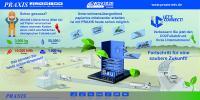 100.000 Blatt Papier A4 verursachen um die 500 kg CO2 und verbrauchen in der Produktion über 25.000 Liter Wasser.