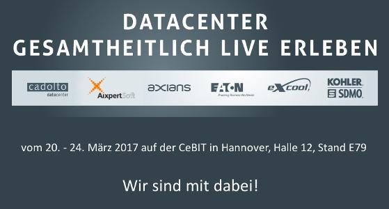 CeBIT 2017: Mit AixpertSoft Datacenter gesamtheitlich live erleben