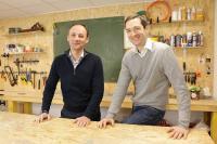 Die beiden MaoMano-Gründer Christian Raisson (l.) und Philippe de Chanville (r.)