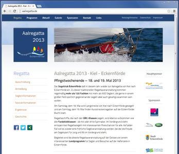 Die offiziele Website der Aalregatta Eckernförde 2013