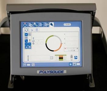 Graphisch unterstützte, intuitive Bedienerführung der P6, wahlweise mittels Touchscreen oder Laptop Foto : Polysoude