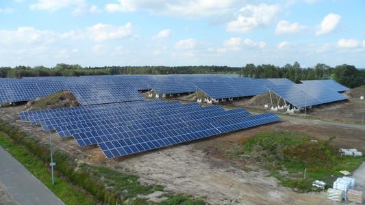 Solaranlage in Saerbeck (Photo: Thomas Fuchs)