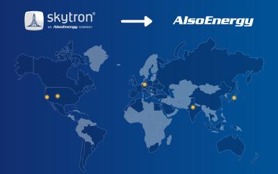 AlsoEnergy Announces skytron Name Change