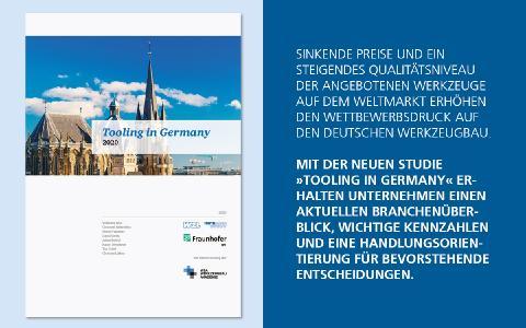 Mit der vom Werkzeugmaschinenlabor WZL und dem Fraunhofer IPT veröffentlichten Studie »Tooling in Germany 2020« erhalten Unternehmen einen aktuellen Branchenüberblick, wichtige Kennzahlen und eine Handlungsorientierung für bevorstehende Entscheidungen