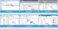 Abb. 2: Gantt-Planung in InLoox für Outlook von InLoox 5 bis 10