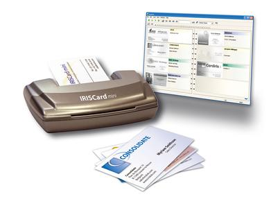 Iriscard Mini Visitenkartenscanner Im Pocket Format