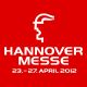 Logo of event Hannover Messe 2012