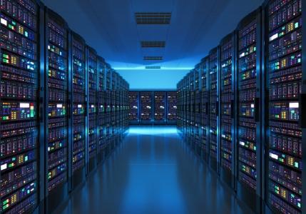 Server-Raum; Foto: Depositphotos