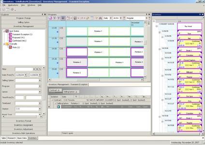 Screenshot S4AdSales / Inventory Management