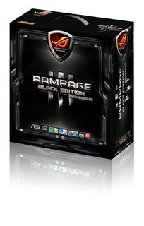 ROG Rampage III Black Edition - das neue State of the Art Gaming Mainboard