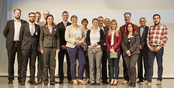Referenten der Foren und Ausbildungsberater der IHK Heilbronn-Franken / Foto: Piotr Banczerowski