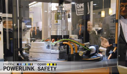 Comprehensive tests confirm the stability of fast POWERLINK data transfer via slip ring
