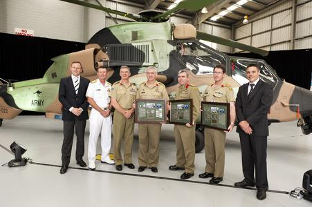 Australian Aerospace delivers final Tiger to Defence