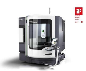 High-End Werkzeugmaschine – innovatives Produktdesign vereint anspruchsvolles und formvollendetes Design mit maximaler Funktionalität