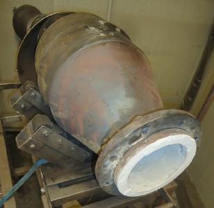 Katalysator Bioheizkraftwerk