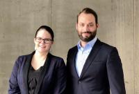 Leitet das neue Büro in Düsseldorf:  Joyce Studier mit  VENDOSOFT-Geschäftsführer Björn Orth
